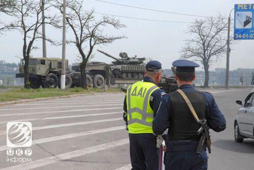 На Николаевщине обустраивают блокпосты от сепаратистов