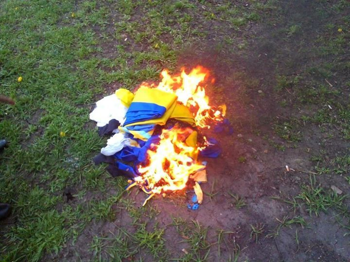 В Луганске пособники террористов взяли штурмом ОГА