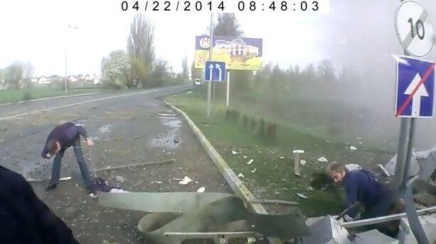 В сети появилось видео момента смертельного взрыва АЗС на Киевщине