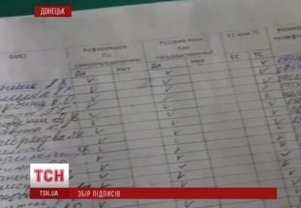 В Донецке водитель трамвая массово агитировала за сепаратизм