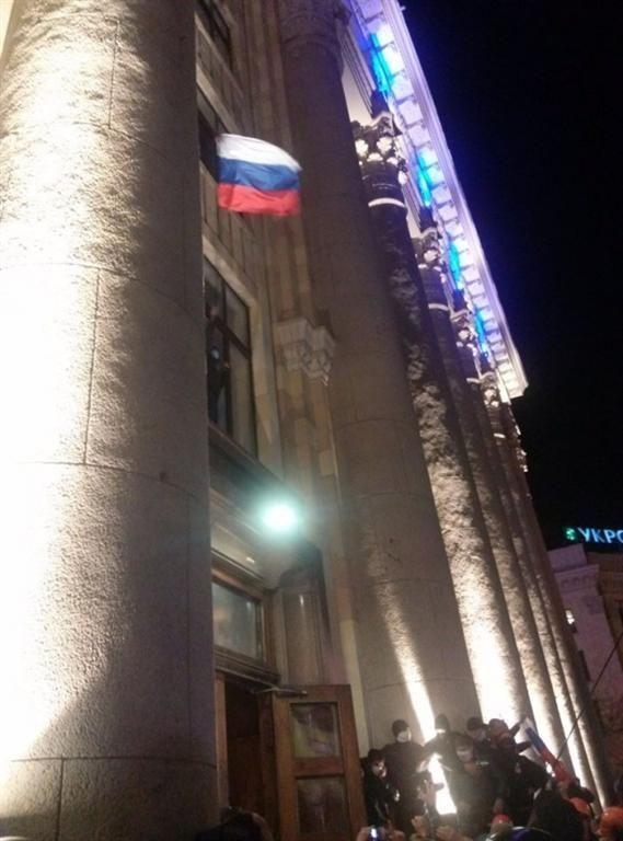 Здание ОГА в Харькове захватили за 10 минут