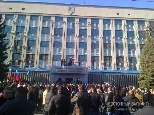 """В Луганске СБУ """"по воле народа"""" освободила арестованных пророссийских активистов"""