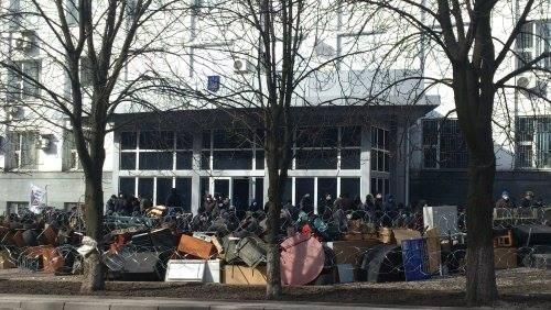 Донецкие сепаратисты захватили здание СБУ