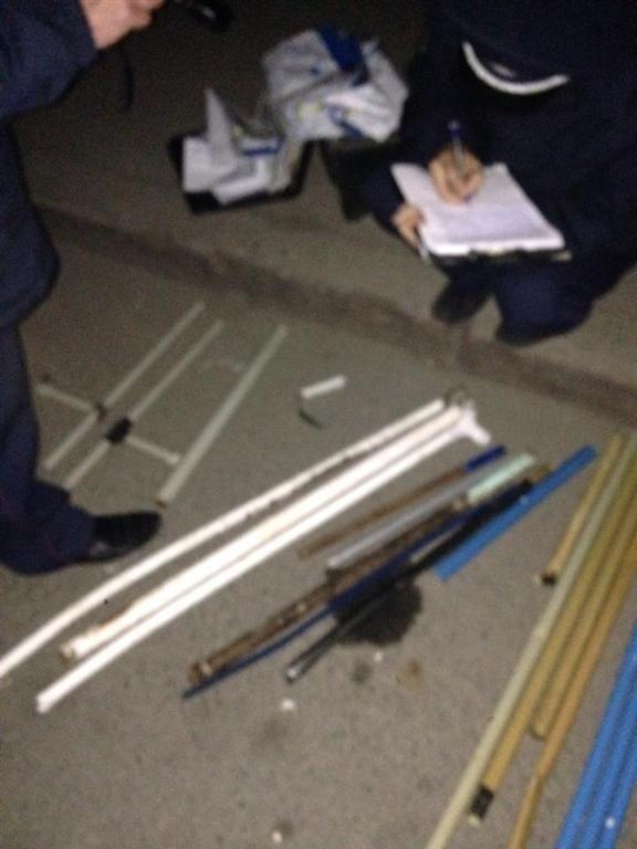 Милиция изъяла у николаевских сепаратистов целый арсенал оружия