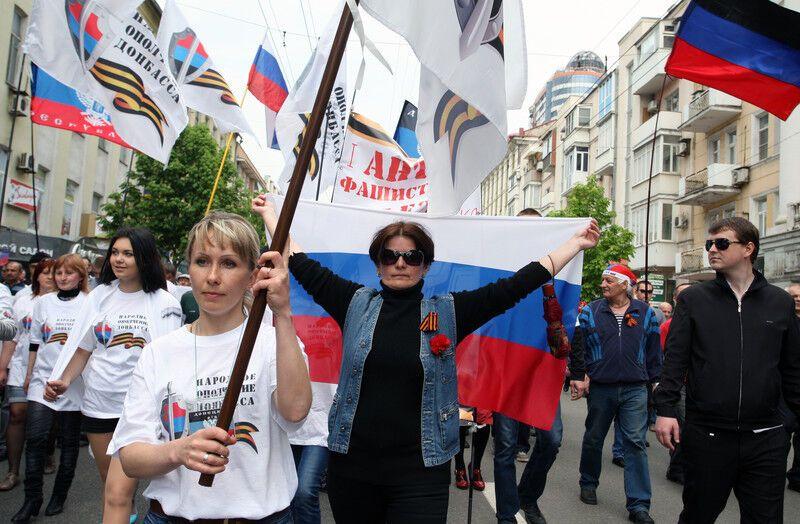 В Україні пройшли першотравневі ходи. Фоторепортаж