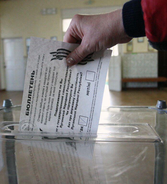 Псевдореферендумы 11 мая в Донецкой и Луганской областях: онлайн-репортаж