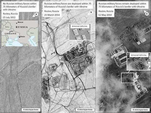 Госдеп доказал, что войска РФ по-прежнему у границы с Украиной