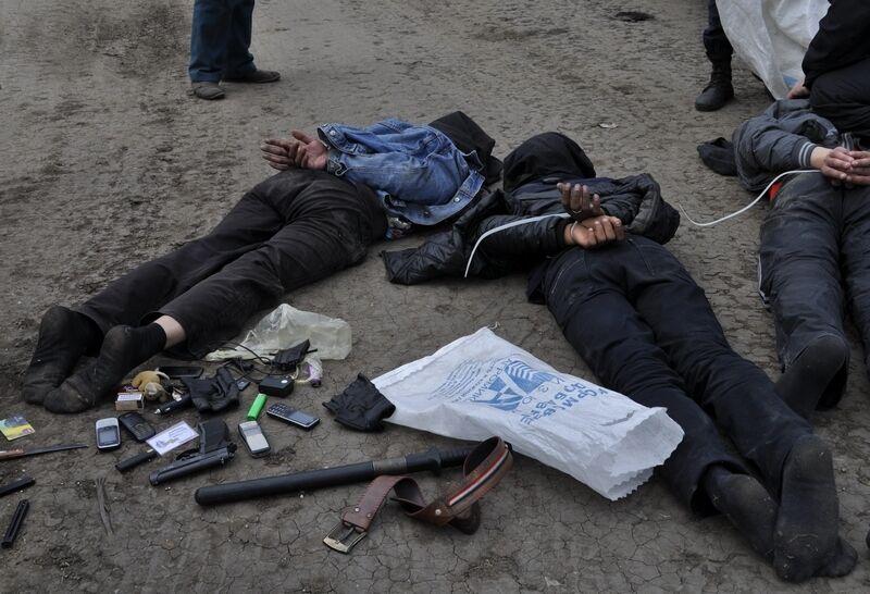Задержаны подозреваемые в обстреле вертолетов в Славянске