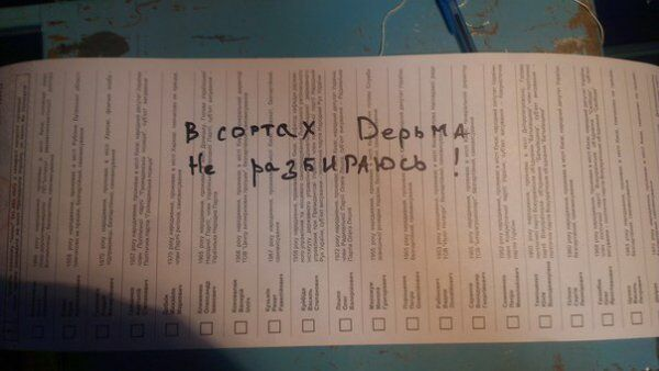 Українці на виборах Президента голосували за Дарта Вейдера, динозавра і цитували Сталіна