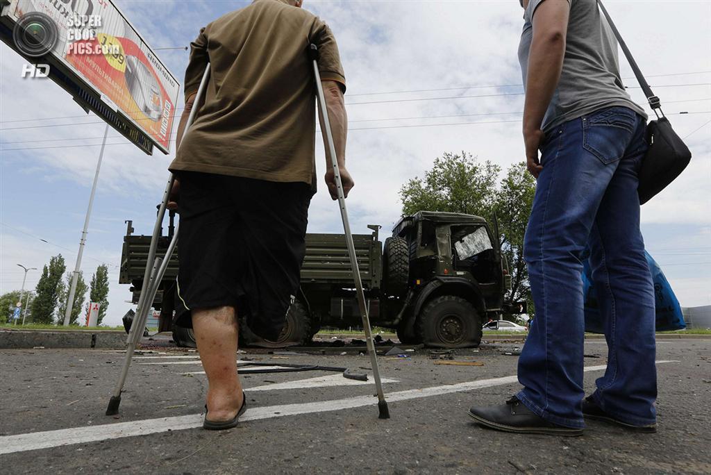 Битва в Донецком аэропорту