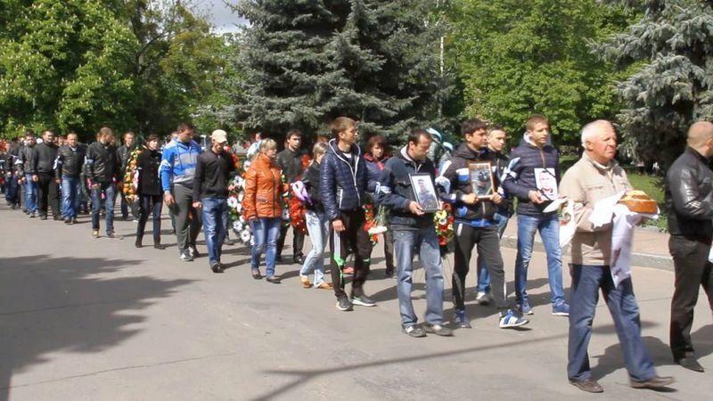 На Житомирщине похоронили десантника, убитого террористами в Славянске