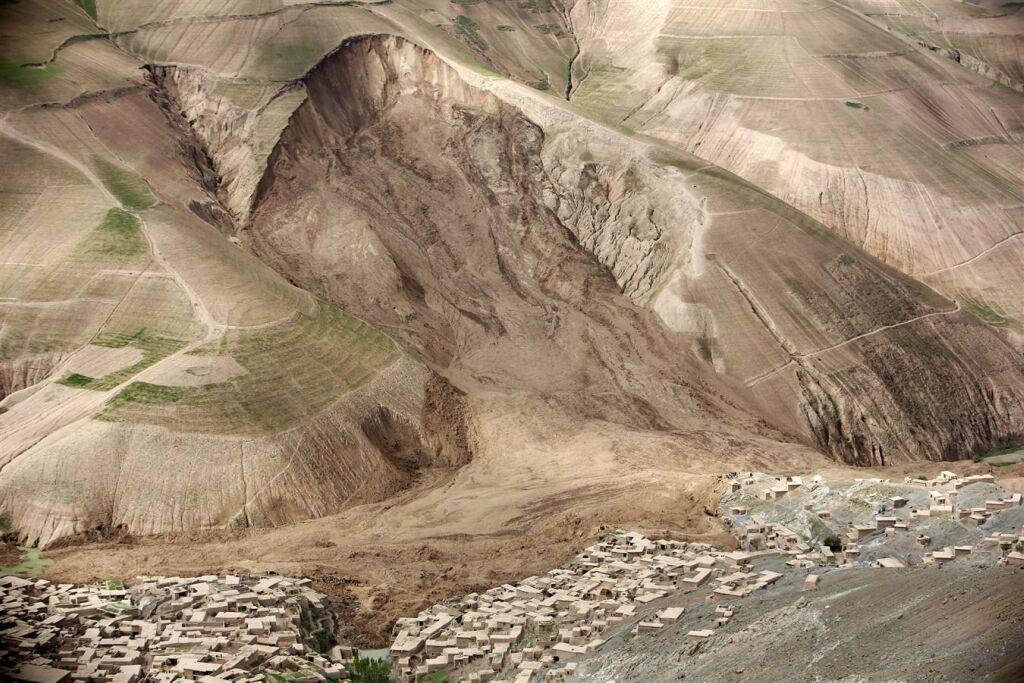 Катастрофічний зсув в Афганістані
