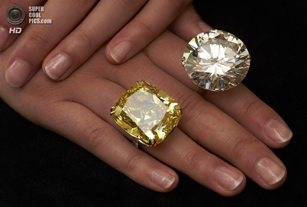 Діаманти-гіганти на аукціоні Sotheby's