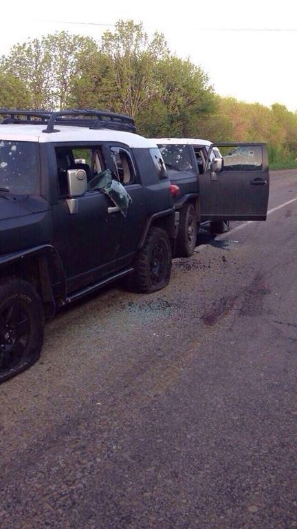 """Террористы расстреляли семью из Антрацита, приняв их авто за колонну """"Правого сектора"""" - правозащитница"""