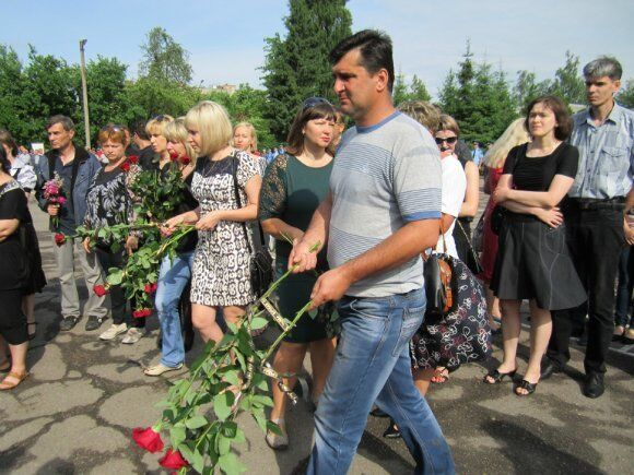 В Александрии простились с летчиками, погибшими под Славянском