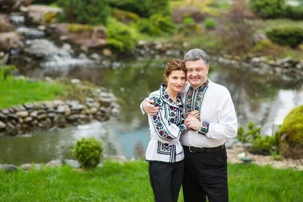 Лямур по-українськи: кращі фото Порошенко з дружиною