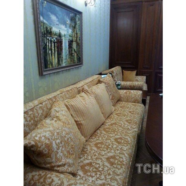 В бывшем кабинете Пшонки были свои спа-салон, кухня и спортзал