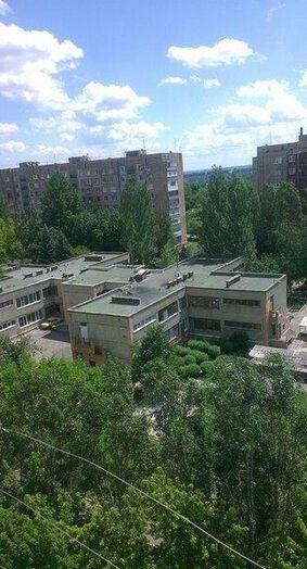 В Краматорске мина террористов попала в здание детского сада
