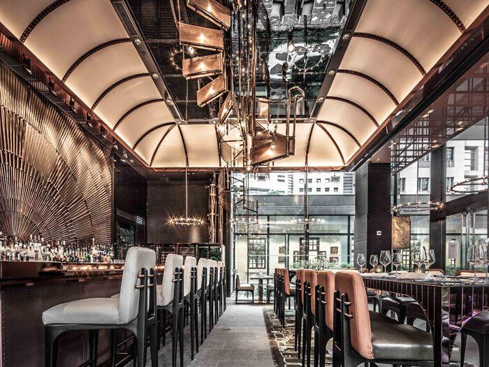 Топ-20 ресторанов, кафе и баров с самым оригинальным дизайном