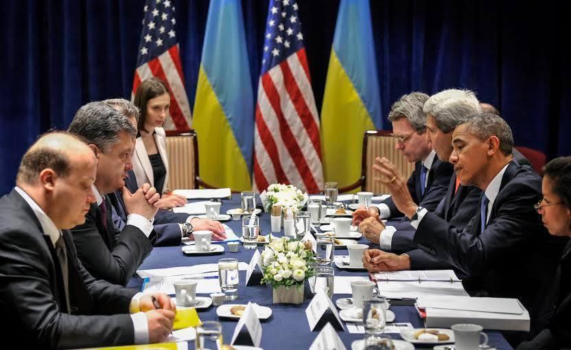 """Обама назвал избрание Порошенко """"мудрым выбором"""" и выделил Украине $5 млн"""