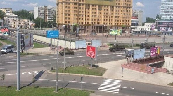 Біля аеропорту Донецька розпочався бій