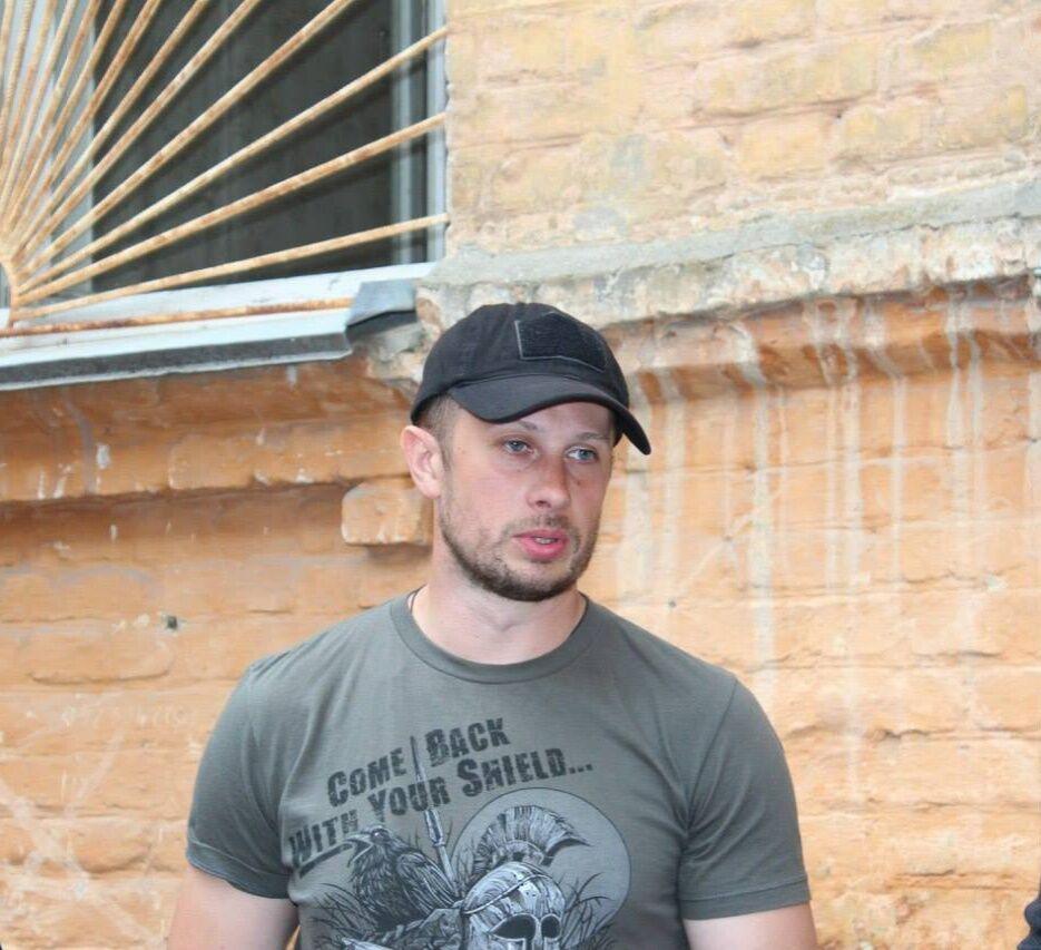 Андрей Билецкий, командир добровольческого батальона Азов / DR