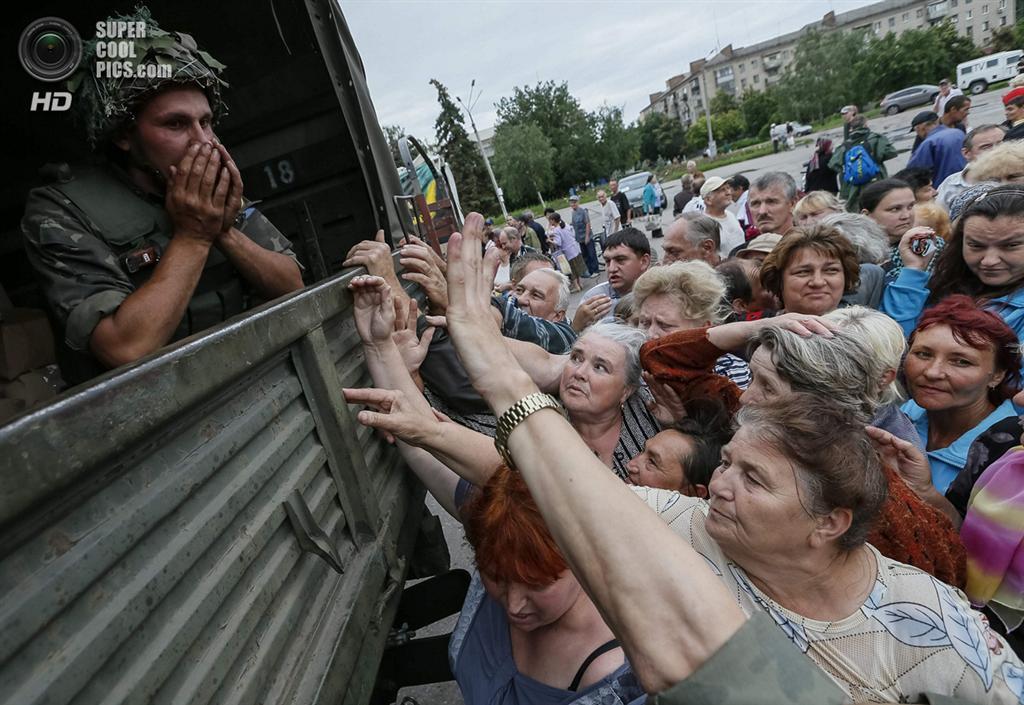 Славянск и Краматорск освобождённые