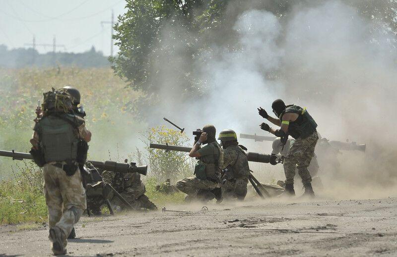 Бои за Первомайск. Фоторепортаж