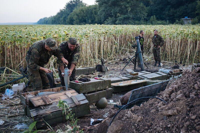 Бої під Іловайськом. Фоторепортаж