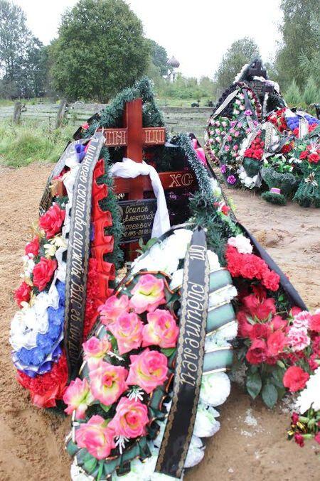Псковская газета опубликовала фото места похорон погибших в Украине десантников