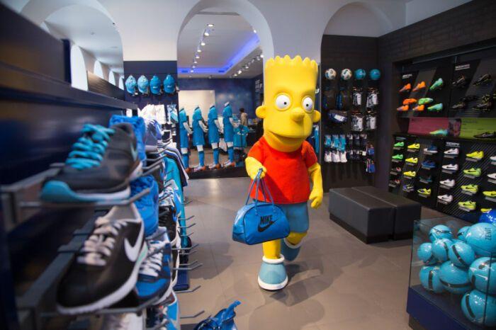 """Персонаж американского мультсериала """"Симпсоны"""" стал талисманом питерского """"Зенита"""""""