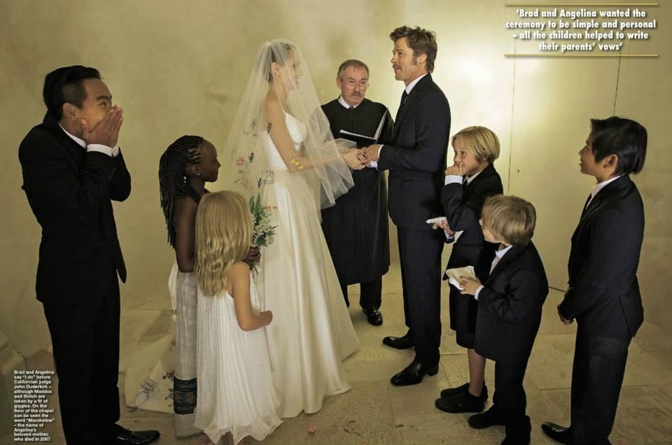Фото свадьбы брэда