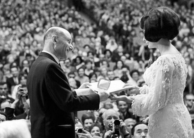 Софи Лорен отмечает 80-летие