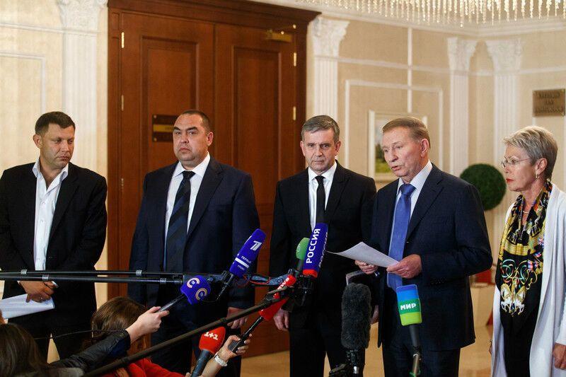 На переговорах в Минске согласовали девять пунктов перемирия