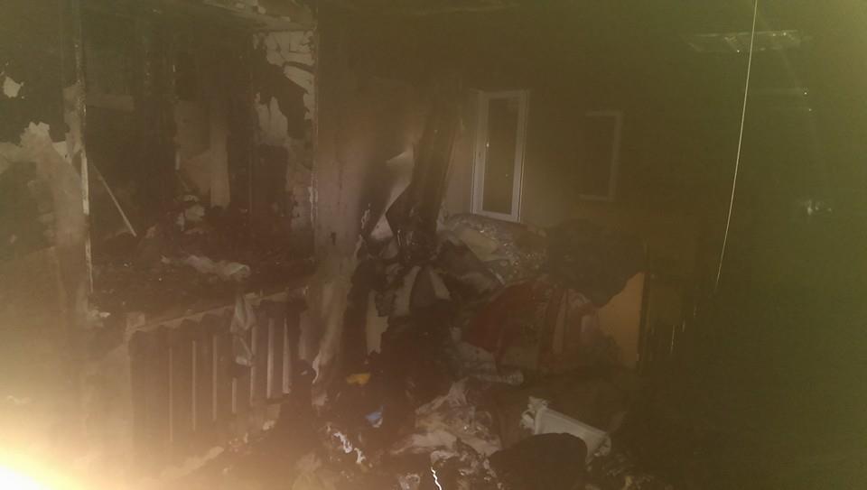 В Мариуполе сожгли дотла офис помощников бойцам АТО