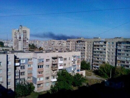 На Алчевском меткомбинате произошел пожар