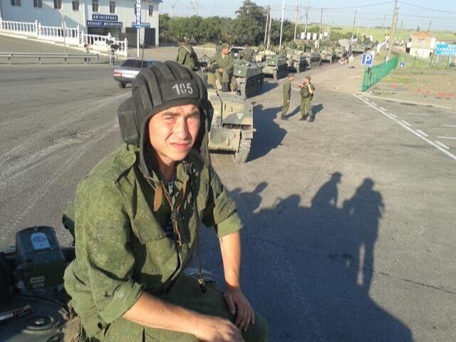 Появились фотодоказательства вторжения колонны псковских десантников в Украину