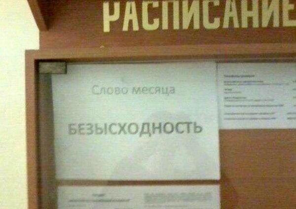 Самые неожиданные фото из школ России, которые вас рассмешат