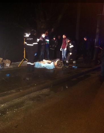 Во Львове убили бизнесмена: тело выбросили из машины на улице. Опубликованы фото