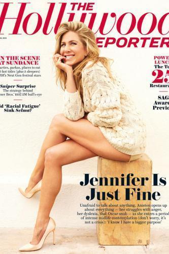 """Дженнифер Энистон рассказала об отношениях с """"Джолипиттами"""" и будущих детях"""