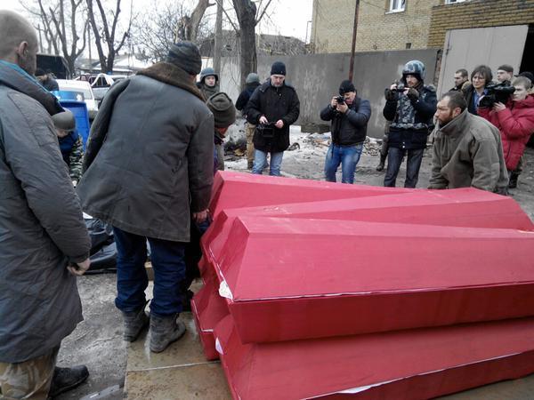 """Главарь """"ДНР"""" передал силовикам 8 тел """"киборгов"""": опубликованы фото"""