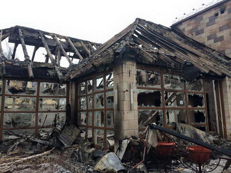Что оставляют после себя террористы: разрушенные дома в Песках (фото 5)