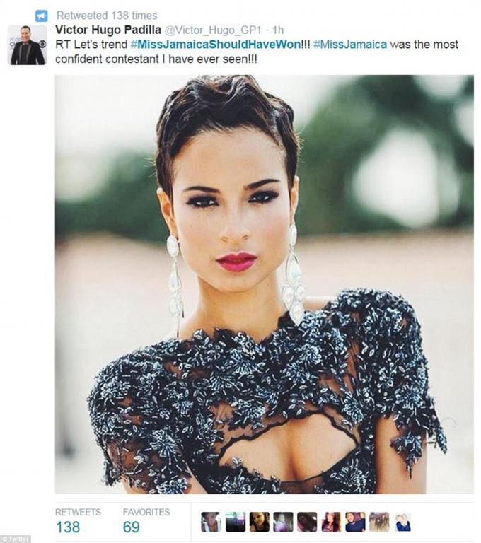 """Пользователей покорила финалистка """"Мисс Вселенная 2015"""", которая похожа на Холли Берри"""
