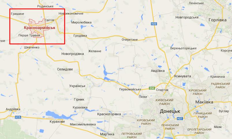 Прифронтовой Красноармейск из-за боев остался без воды. Под угрозой - тепло