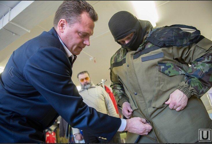 Из России наемников-профессионалов отправляют воевать на Донбасс и испытывать новую военную форму: фотофакт