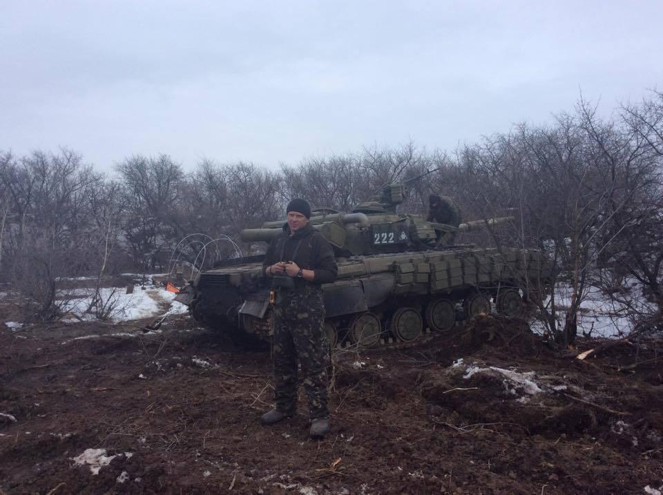 """Бойцы показали """"отжатую"""" у россиян под Дебальцево технику: теперь пусть за нас повоюет"""