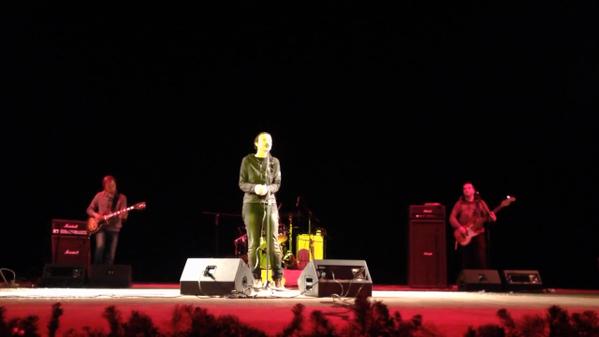 Российская рок-певица Чичерина дала концерт в оккупированном Луганске. Фотофакт