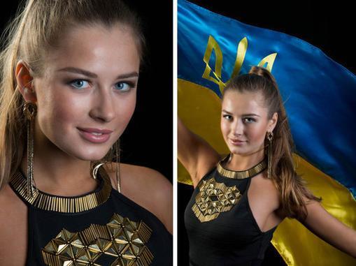 """Диана Гаркуша: на """"Мисс Вселенная-2014"""" меня называли принцессой"""