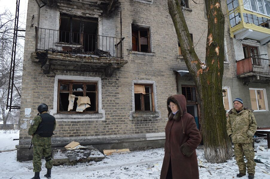 Опубликованы фото разгромленного террористами села возле 29-го блокпоста: люди в отчаянии