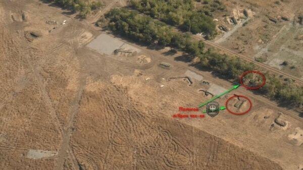 Терористи повернули на колишні позиції танкову батарею в Солнцево - аеророзвідка